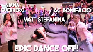 Video Youtube Fanfest Backstage Dance Party (Ft. Matt Stefanina, AC Bonifacio, Niana Guerrero) download MP3, 3GP, MP4, WEBM, AVI, FLV Juli 2018