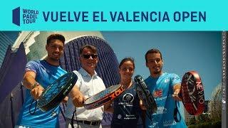Presentación Estrella Damm Valencia Open 2019 | World Padel Tour