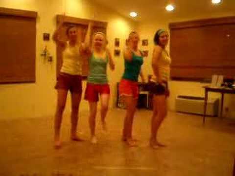 The Upside down dance!!!