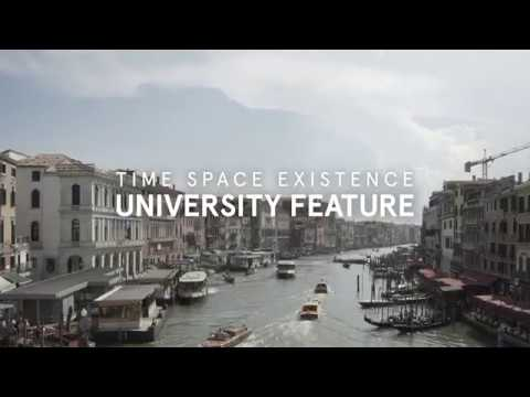 European Cultural Centre: Universities at Time Space Existence, Venice 2018
