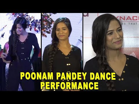 Poonam Pandey Performance | Poonam Pandey At Inter School Dance Compition | Bollywood 2018