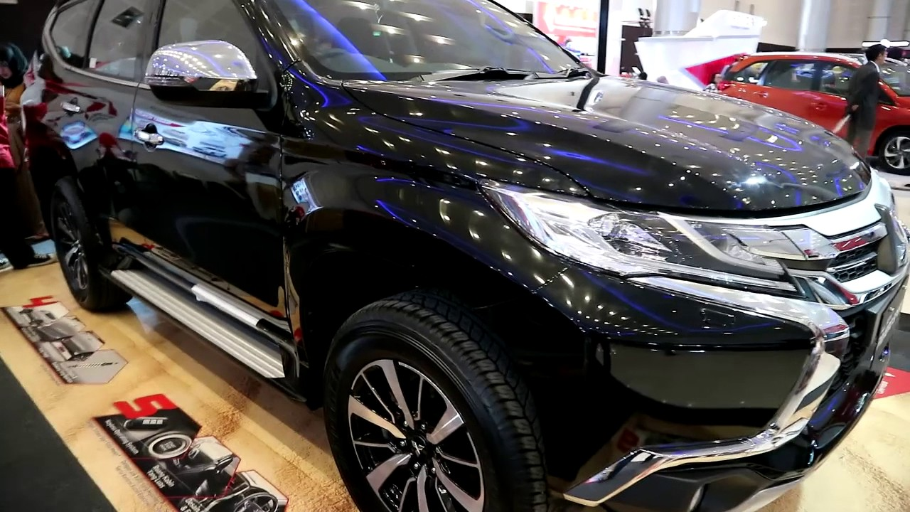 Mitsubishi All New Pajero Sport 2017 >> New Mitsubishi Pajero Sport 2017 Exterior And Interior Youtube