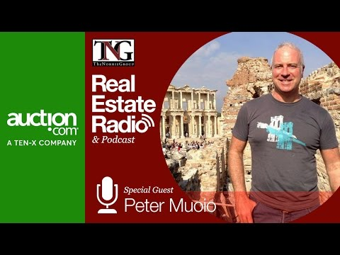 Peter Muoio of Auction.com Joins Bruce Norris on the Real Es