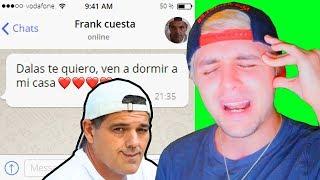 Frank Cuesta me invitó a dormir con él en su casa y le dije que...