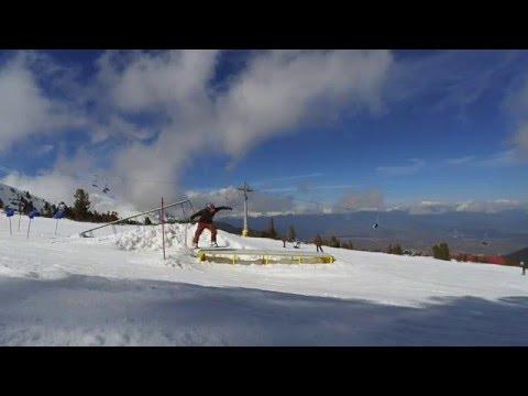 Bansko Snowpark 2016