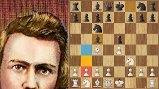 Can it Really be?? Another One??? || Kipping vs Morphy || 1860.