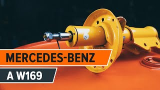Tutoriais em vídeo gratuitos para MERCEDES-BENZ Classe A - a manutenção do carro por conta própria ainda é possível