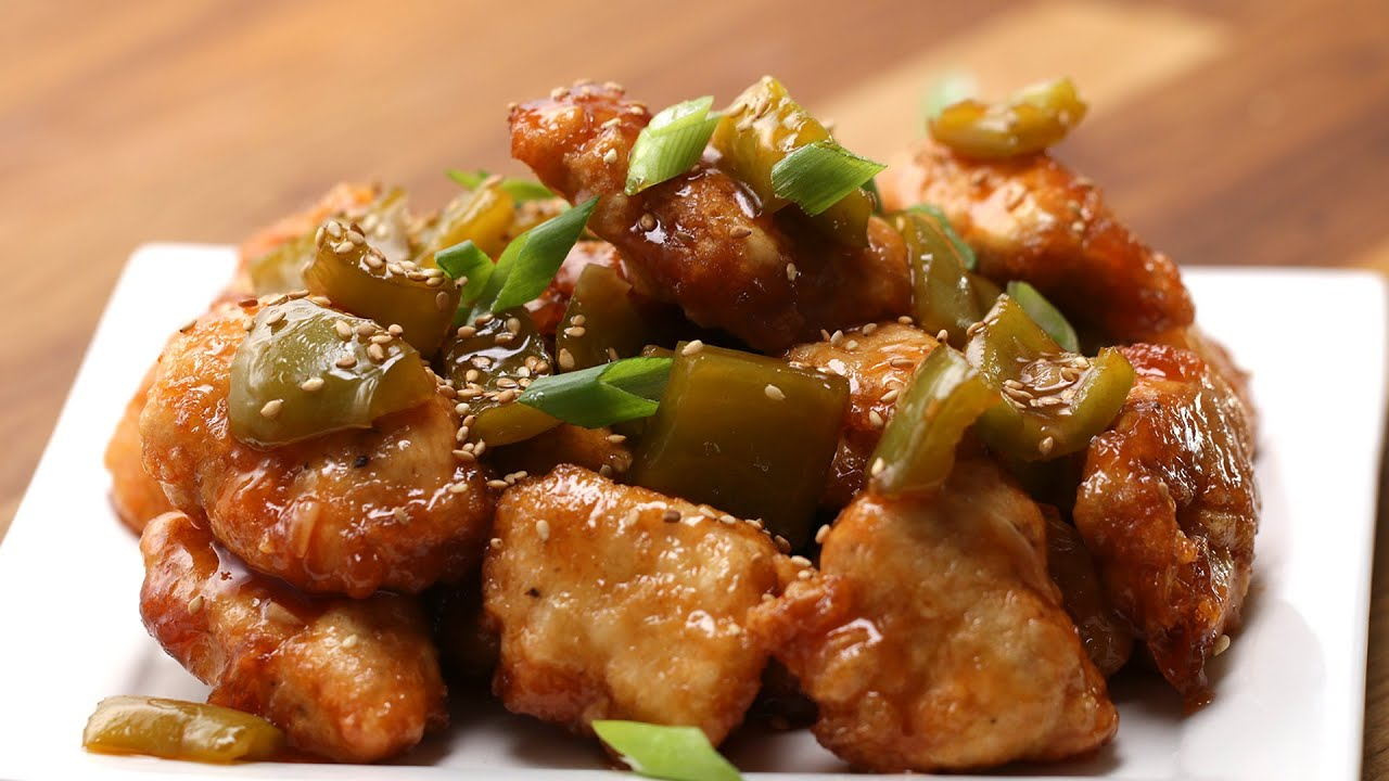Sweet & Sour Chicken - YouTube