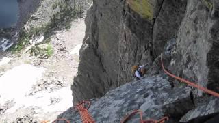 Alpine Climbing-Hallett Peak -Jackson-Johnson - Climbing Rocky Mountain National Park