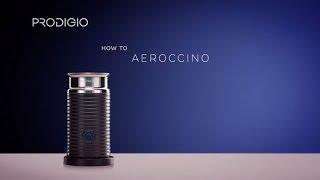 Wie kann ich den Aeroccino meiner Prodigio&milk Maschine verwenden?