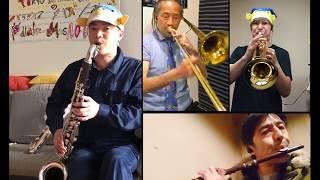 さかなクンが東京スカパラダイスオーケストラの「Paradise Has No Border」を演奏してくれました。 4月13日にアップの「おうちでパラダイス」さかなク...