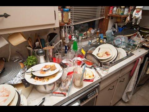 Как же отмывает посудомойка??