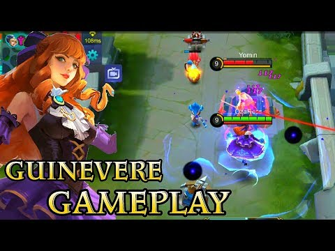 New Hero Guinevere Gameplay - Mobile Legends Bang Bang