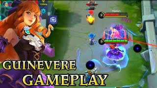 New Hero Guinevere Gameplay - Mobile Legends Bang Bang