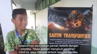 PKMM - Testimoni Santri Transformers