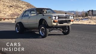 Car Enthusiast Combined An Old Honda Accord With A Tesla Motor