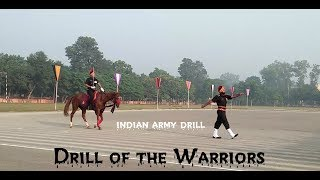 Drill of the Warrior's of indian army best regards.