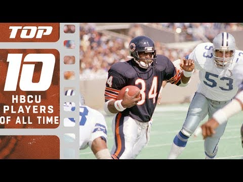 Top 10 HBCU Players of All Time | NFL Films