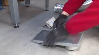 видео Трехсторонние каминные топки