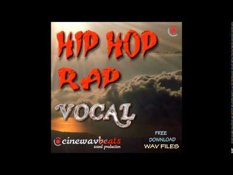 Hip Hop Rap vocal download BPM 120