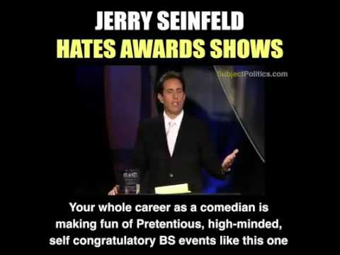 Jerry Seinfeld | Awards are Stupid