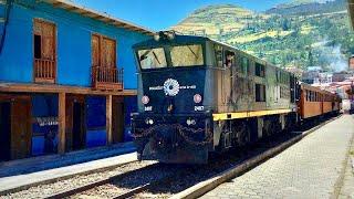 El Tren de Ecuador | La Nariz del Diablo Alausí | Tren del Hielo Urbina | Ecuador Vlog 08