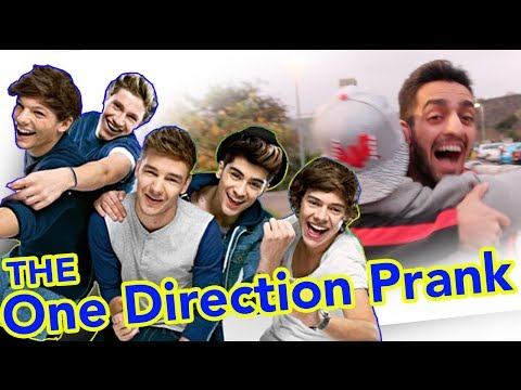 THE ONE DIRECTION PRANK!