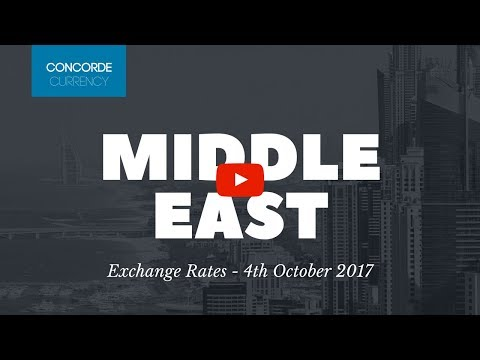 Middle East Exchange Rates 04/10/17