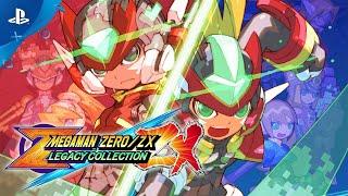 Mega Man Zero ZX Legacy Collection - Launch Trailer | PS4