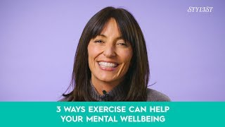 Davina McCall: 3 ways exercise can help your mental wellbeing