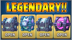 HUGE LEGENDARY KINGS CHEST OPENING IN CLASH ROYALE | CLASH ROYALE CHEST OPENING!