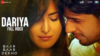 Download Hindi Video Songs - Dariya - Full Video | Baar Baar Dekho | Sidharth Malhotra & Katrina Kaif | Arko