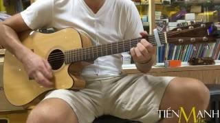 Anh Tây Solo Guitar Acoustic Ayers DCSM - All Solid Series