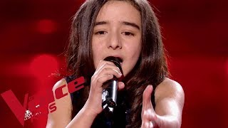 Gambar cover Johnny Hallyday - Vivre pour le meilleur | Inès | The Voice Kids France 2018 | Demi-finale