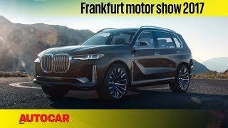 BMW Concept X7 iPerformance   Frankfurt Motor Show 2017   Autocar India