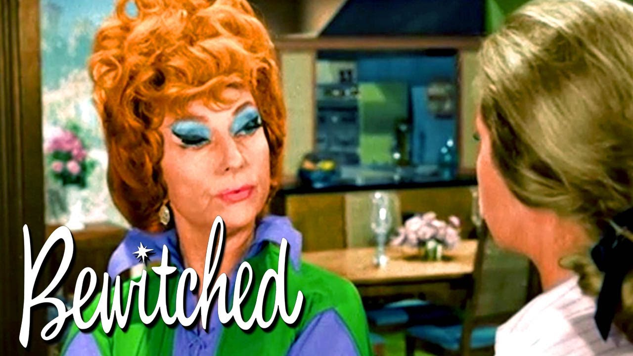 Endora Sends The Stephens Back In Time | Bewitched