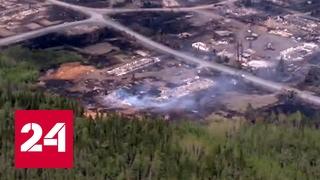 Лесные пожары в Сибири набирают силу