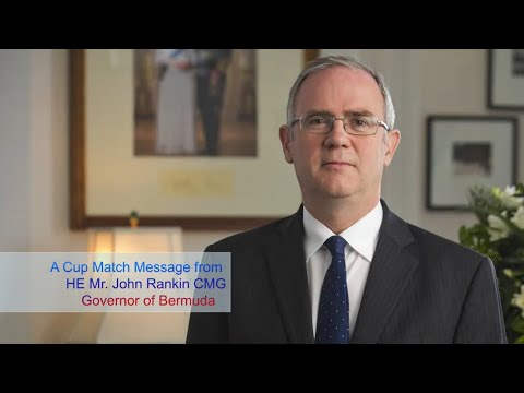 Governor John Rankin Cup Match Message, July 29 2020