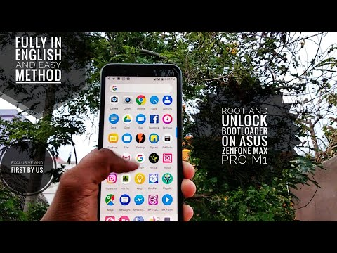 How to root and unlock the bootloader on Asus Zenfone Max pro M1 in
