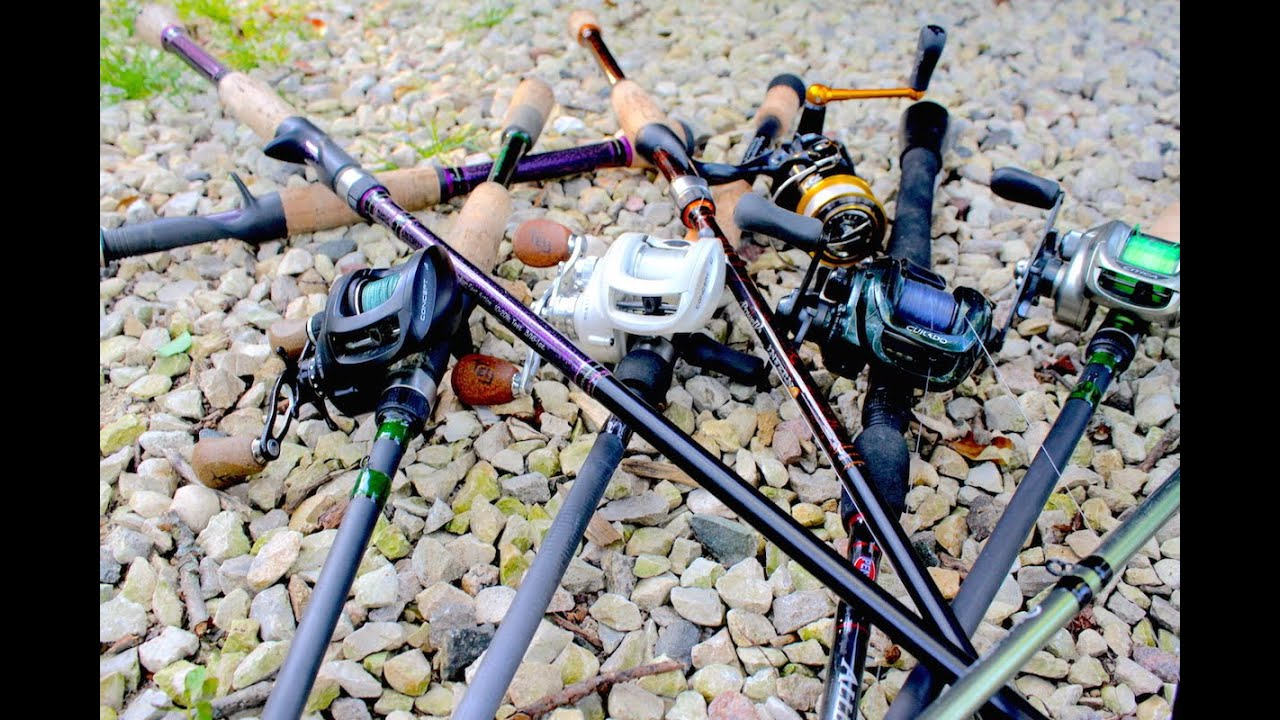 2015 rod reel line up bass fishing youtube for Best fishing line for bass