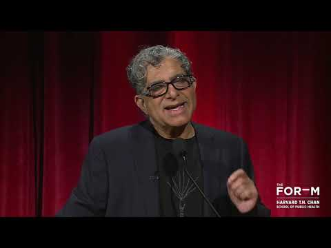 The Future of Wellbeing: A Conversation with Deepak Chopra