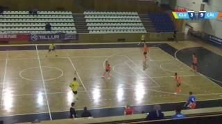 Futsal LIVE: CFF Clujana Cluj-Napoca - Futsal Club Dunarea Calarasi