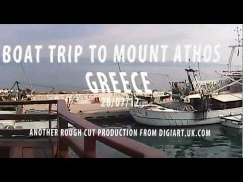 Boat trip to Mount Athos, Greece
