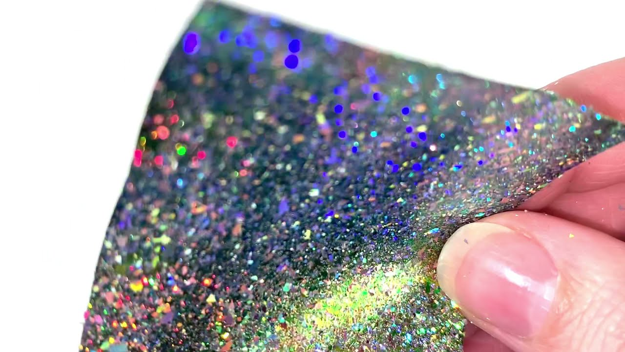 SolarColorDust.com Aurora Holographic Flakes - Crux - Holo Flakes for Resin, Nail Art, and More!