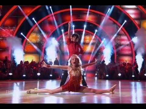 Akash Vukoti & Kamri Peterson  Dancing With The Stars Juniors DWTS Juniors Episode 2