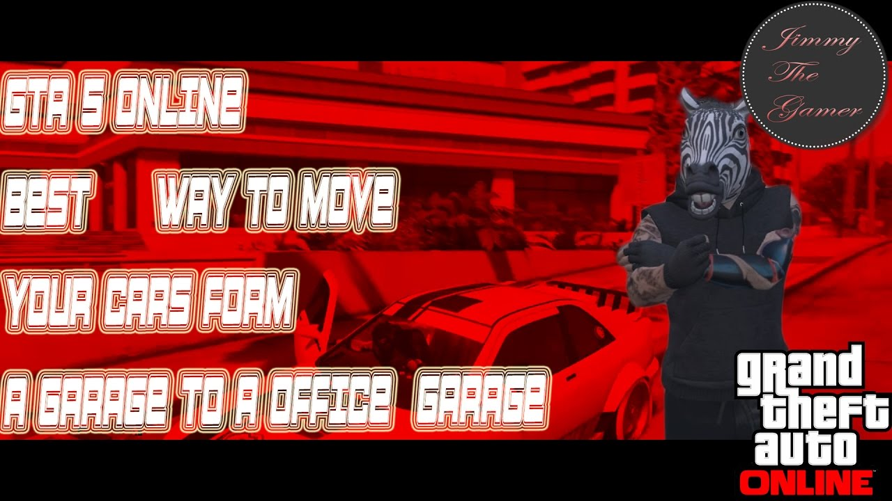 gta v how to get a garage on your office
