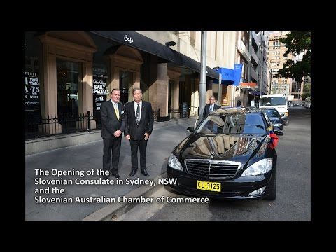 Slovenian Consulate Sydney and Slovenian Australian Chamber of Commerce Opening