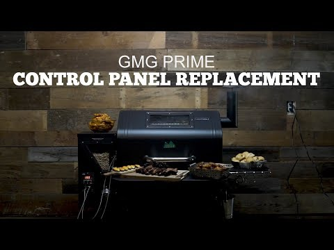 Green Mountain Grills Prime Support | Control Panel