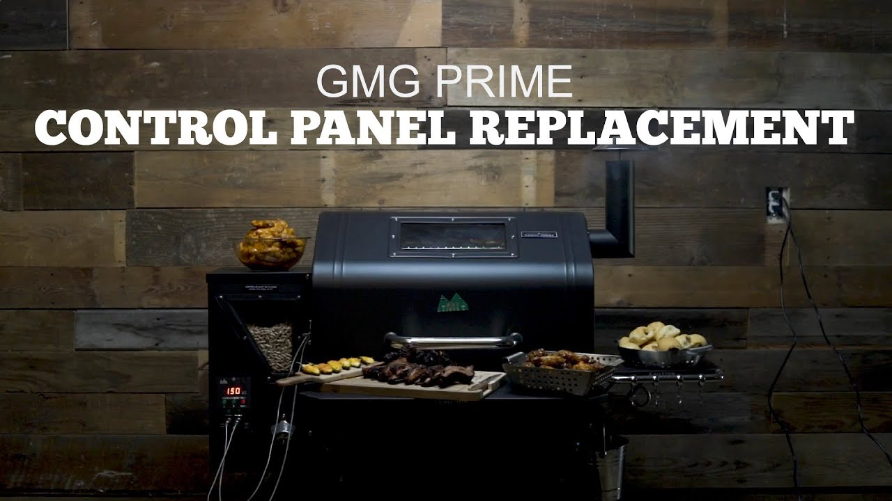 Green Mountain Grills Prime Support Control Panel Youtube