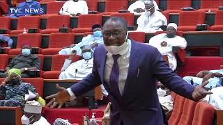 Senator Smart Adeyemi Breaks Down In Tears Over Spate Of Killings In Nigeria